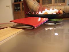 X47 Steel (Markus Rdder (ZoomLab)) Tags: red rot love leather notebook video notes steel leder notizbuch notizen notiz x47 x17 x47steel