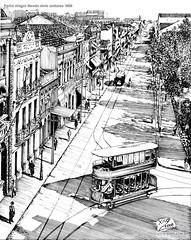Porto Alegre Bonde dois andares 1908