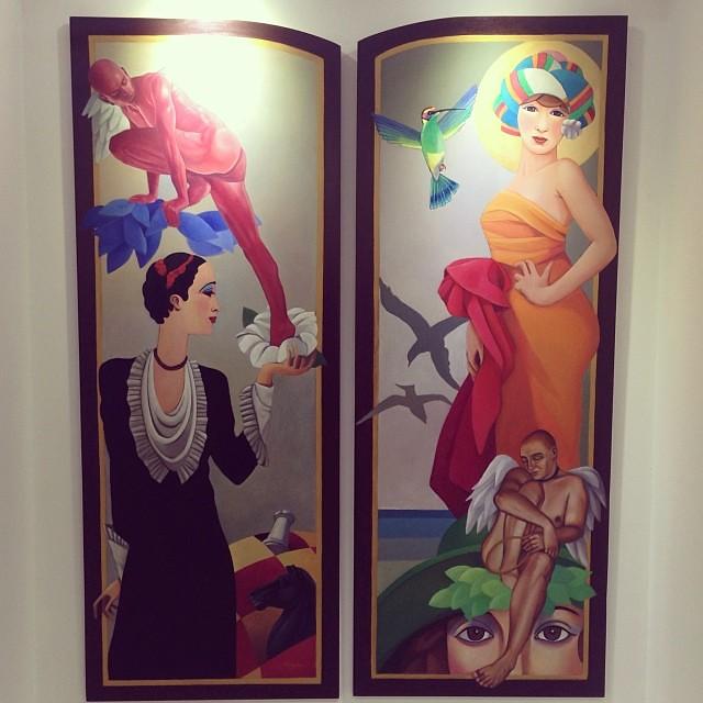 Sin Titulo de Hugo Alegre $1400 cada una • Bazarte #bazarte #arteenlima #artinlima #arte #art #artist #artista #pintura #painting
