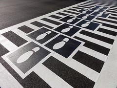 131221 Hopscotch Crosswalk Colossus - 15.jpg (Graham Coreil-Allen) Tags: street art publicspace downtown play unitedstates walk footprints maryland baltimore publicart crosswalk bromoseltzer intervention participation colossus bopa placemaking hopscotchcrosswalk