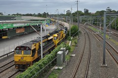 2BM7 at Flemo (highplains68) Tags: railroad au sydney rail railway australia nsw newsouthwales flemington freighttrain superfreighter 2bm7