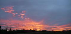 Encore un bel embrasement! (Marie-Hlne Cingal) Tags: sunset sky france clouds ciel 40 nuages coucherdesoleil landes sudouest aquitaine cagnotte paysdorthe