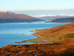 Evening sun on Inverguserain, Knoydart - Peter Klemm