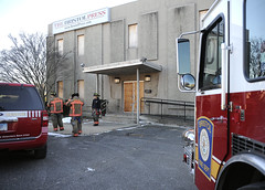 pipeburst-br-011014_5810 (newspaper_guy Mike Orazzi) Tags: frozen pipes burst firefighter firefighters bristolfiredepartment