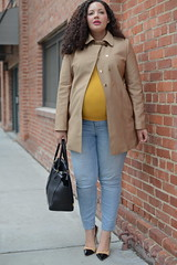 Easy (GirlWithCurves) Tags: baby style curvy maternity curlyhair bump plussize plussizefashion girlwithcurves plussizeblog taneshaawasthi curvyfashion