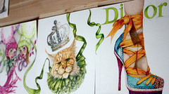 endlessbook3 (Yanina Link) Tags: inspiration art illustration shoe design sketch artwork drawings illustrator mode dior fashiondesign modezeichnung fashionillustration modeillust