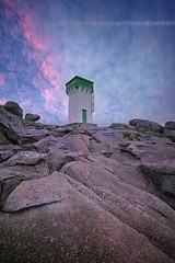 Sunset on Trevignon Lighthouse ( Finistère - France ) (Yannick Lefevre) Tags: longexposure sunset lighthouse france photoshop landscape nikon raw nef tripod bretagne paysage dri manfrotto hoya rockscape finistère digue ndfilter nd400 trevignon poselongue nikoncapturenx trégunc d700 ndx400 capturenx2 lapointedetrévignon yllogo nikkor1635mmf4 ©yannicklefevre||photography filtrendhoya