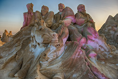 Sand Sculptures at Remal International Festival, Kuwait (CamelKW) Tags: sculpture kuwait 1001nights sandsculpture kuwaitcity thesandsculpturecompany proudtobekuwaiti kuwaitsandsculpture remalinternationalfestival