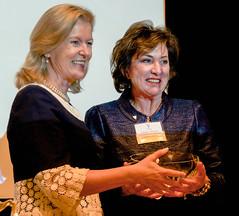 Ann Bayada and Ambassador Anderson