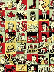 Best of Calgary '09 (Tom Bagley) Tags: music canada calgary illustration ink dinosaur cartoon alberta frenchbulldog pulp tubing oneyellowrabbit feist calgaryzoo dinny jaromeiginla calgarystampede tombagley davebronconnier brushwork skinnyjeans canadiancontent sexinthewoods rammythebatlord boiking