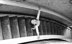 Water Tank - Volunteer Park - Seatte (geldmond) Tags: seattle park usa white black blanco water girl stairs agua tank little negro steps nia wa volunteer escaleras deposito peldaos