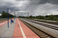 Siechnice train station 12.05.2014 (szogun000) Tags: railroad station canon platform tracks poland polska rail railway pkp siechnice lowersilesia dolnolskie dolnylsk canoneos550d canonefs18135mmf3556is d29277