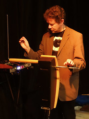 Chris Conway @ Quadelectronic 73 - 6th Anniversary (unclechristo) Tags: theremin chrisconway quadelectronic