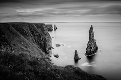 Stacks of Duncansby (S Howlett) Tags: longexposure blackandwhite seascape scotland technique seastack blackandwhitephotography duncansbyhead daytimelongexposure stacksofduncansby leebigstopper