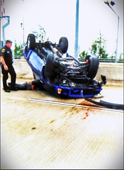 "Jupiter Florida bridge Rollover accident • <a style=""font-size:0.8em;"" href=""http://www.flickr.com/photos/124863161@N02/14474597711/"" target=""_blank"">View on Flickr</a>"