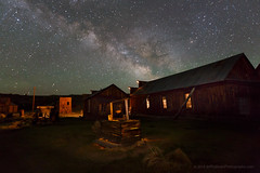Milky Way over Miner's Union Hall (Jeff Sullivan (www.JeffSullivanPhotography.com)) Tags: california park travel light sky copyright jeff night canon dark painting way stars photography photo state may historic workshop bodie sullivan milky starry 2014 easternsierra monocounty visitca visitcalifornia bdsh visitmonocounty visiteasternsierra caliparks