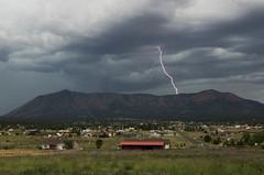 ...more Zap! (ArneKaiser) Tags: arizona autoimport doneypark flagstaff monsoon mountelden clouds lightning sky storm weather unitedstates flickr