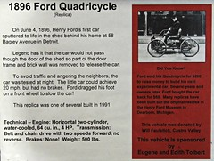 1896 Ford Quadracycle (Replica) Info (Jack Snell - Thanks for over 26 Million Views) Tags: california ca wallpaper classic ford wall museum vintage paper antique flash automotive historic replica oldtimer sacramento veteran flair towe 1896 quadracycle jacksnell707 jacksnell