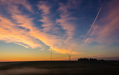 Iowa Sky (Eridony) Tags: walnut pottawattamiecounty iowa smalltown rural morning sky