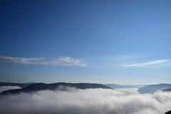 Above The Clouds (RWDrurey) Tags: westvirginia grand view nikon nikonphotography naturebynikon vivid vibrant sky clouds fog valley mountain landscape blue sun morning dlsr state park exploration