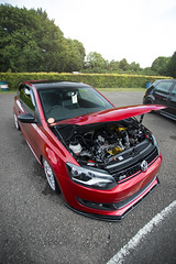 Loving this Polo (Will Foster Photo) Tags: revo technik vw polo volkswagen car cars automotive engine fast castle combe track day circuit red photo photography canon will foster 6d