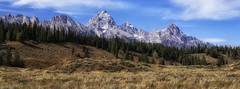 Grand Tetons - Mountains of the West (kweaver2) Tags: kathyweaver art photography landscape mountains rockymountains wyoming grandtetons nationalpark west