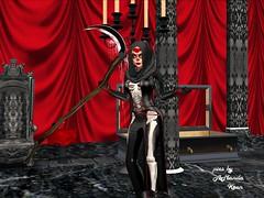 Skye @ Velvet Thorn Halloween Party 12 (Amanda Keen) Tags: second life velvet thorn bdsm femdom female superiority erotic roleplay