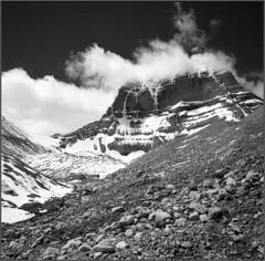 Kailash (Yuriy Sanin) Tags: creek steam yuriy sanin 2013 юрийсанин горы горныйпейзаж кайлас снег камни чб чернобелаяфотография
