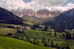 Dolomiti (Don Csar) Tags: italy italia europe europa mountain dolomites valdifunes villnoss valley valle landscape alps alpes stmagdalena sdtirol bozen