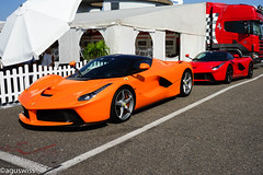 Double trouble (aguswiss1) Tags: laferrariferrari ferrari laferrari laf supercar hypercar fastcar sportscar dreamcar racecar racer cruiser combo parked 300kmh 200mph millionaire millioncar hhr ferraridays ferrariracingdays