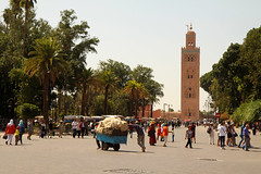 La mosque Koutoubia - Marrakech, Maroc (Claudio Nichele) Tags: mosque mosque koutoubia medina marrakech maroc morocco medinaofmarrakesh medinamarrakesh