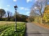 North Hill from Malvern Link Common (Kumukulanui) Tags: malvern malvernhills malvernlink worcestershire gaslamp streetlight england heartofengland malvernlinkcommon autumn