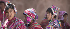 Peru (richard.mcmanus.) Tags: peru pisac traditional dress costume hats textiles andes people latinamerica southamerica