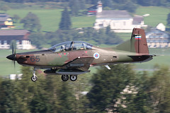 Airpower16Thurs-2017 (MichaelHind) Tags: 2016 aviation airshow austria austrian austrianairforce zeltweg styria redbull pilatus pc9m hudournik slovenianairforce