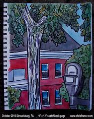 www.chrisfrancz.com (but you should never leave Flickr!) (Chris Francz) Tags: art chinamarkerart chinamarkerdrawing sketchbookart sketchbookpages artistsketchbook mysketchbook sketchbookpage chrisfrancz stroudsburgpa downtownstroudsburg urbansketching