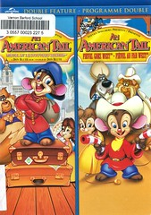 An American Tail (and) An American Tail:  Fievel Goes West (Vernon Barford School Library) Tags: donbluth garygoldman johnpomeroy philipglasser jamesstewart ericayohn domdelouise amyirving johncleese jonlovitz americantale fievel mouse mice animals russia historicaldrama west frontier americanfrontier western westerns immigration immigrants animation animations animated drama vernon barford library libraries new recent video videos film films junior high middle school covers cover videocase videocases dvd dvds dvdcase dvdcases fiction fictional movie movies comedy comedies motionpicture motionpictures adventure adventures action