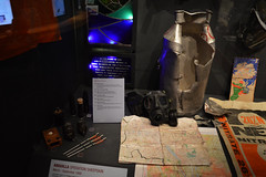 Display (lcfcian1) Tags: duxford air museum iwm imperial war cambridgeshire imperialwarmuseumduxford iwmduxford aviation history duxfordairmuseum gas mask gasmask bombs