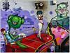 It's a Knockout (donbyatt) Tags: eastlondon streetart cans urban walls graffiti binho tinho tizer bonsai