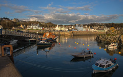 portpatrick harbour (dale 1) Tags: scotland portpatrick west coast harbour sea water life boat fishing clouds