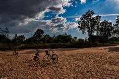 Clear skies of Cambodian villages (Vagabundina) Tags: nikon d5300 cambodia nature village sky sun clouds