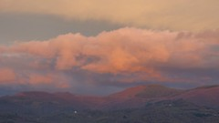 (Marco Tiano) Tags: pink trees forest sunset red mountain night clouds italy calabria sky december 2016 autumn blue hours golden silver wheaterphotpgraphy photocamera