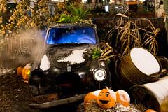 Sad Car (andreassonfredrik) Tags: gothenburg halloween car sad göteborg sweden sverige gloom sadness wither withered volkswagen