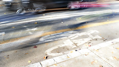 Urban Bike Lane Citylife Blurred Motion (Mila Araujo @Milaspage) Tags: symbol bikelane cycling citylife city urban urbanroads road bikepath bike blurredmotion car colourimage exploration horizontal outdoors nopeople people healthylifestyle environmental environment pollution photography speed transportation travel urbandevelopment urbandesign citydesign bicyclelane bicycle street alternativelifestyle dirttrack dirty highstreet lifestyles modeoftransport motion onthemove pavement roadsignal shadow shape sign sunset tarmac thewayforward twoobjects fall