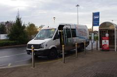 IMGP6764 (Steve Guess) Tags: bus brooklands byfleet surrey england gb uk cobham chatterbus vw midibus