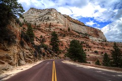 Mount Carmel Highway (Rik Tiggelhoven Travel Photography) Tags: mount carmel highway mountain zion national park np nps service road outdoor nature tree clouds landscape landschaft landschap landskap paysage paisagem paisaia paisaje paisaxe canon 6d fullframe ef24105mmf4lisusm rik tiggelhoven travel photography scenery scene utah usa america