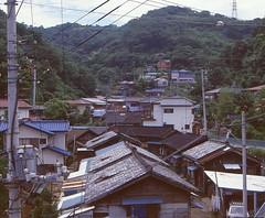Yokusuka, Japan, around 1985 (rolandmks7) Tags: 横須賀 日本 1985 japan yokosuka ektachrome slide scan village 安針塚 逸見 村
