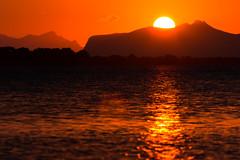The one about the sunset (luigig75) Tags: favignana stagnone saline marsala trapani sicilia sicily italia italy sunset egadi marettimo sun castello sea laguna 70d 70200f4l canonef70200mmf4lusm
