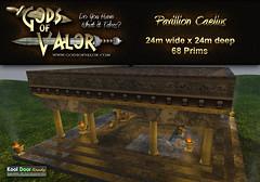 Gods of Valor - Pavillion Caelius Ad (Filipa Thespian) Tags: ancientrome ancientroman rome roman italy roleplay secondlife