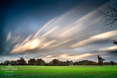 Hypersonic (SimonTHGolfer) Tags: landscape landscapephotography nature rainbow longexposure littleglemham suffolk eastanglia uk fast movement weather clouds