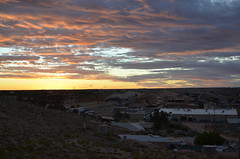 A view of Coober Pedy (chloesutton-stacey) Tags: australia travel blog downtherabbithole outback camping southaustralia lochiel rangesview landscape couple saltlake lakehart art sculpture installation sunset cooberpedy opalcapital views photography adventure backpacking oz travelling journey roadtrip